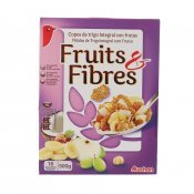 AUCHAN CEREALS FRUIT FIBRES 500GR