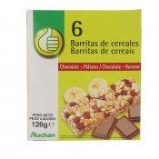 BARRETES CEREALS XOCO/PLATAN X 6 125GR.