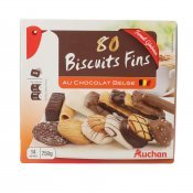 AUCHAN ASSORTIMENT GALETES FINES 750GR
