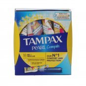 TAMPAX PEARL COMPAK REGULAR X18