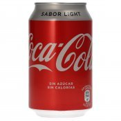 COCA COLA LIGHT LLAUNA 33CL