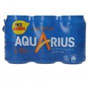 AQUARIUS TARONJA PACK 9X33CL