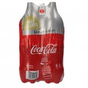 COCA COLA LIGHT 2L X 4U.