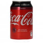 COCA COLA CHERRY COKE LLAUNA 33CL
