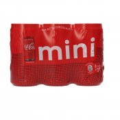 COCA COLA LLAUNA MINI 20CL X 6U.