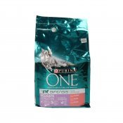PURINA ONE SENS GAT SALMO/ARROS 1,5KG.