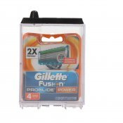 GILLETTE FUSION PROGLIDE POWER REC X4