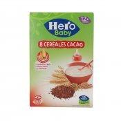 HERO BABY 8  CEREALS/CACAU 340GR
