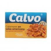 CALVO CALAMARS SALSA AMERICANA 115GR