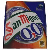 SAN MIGUEL S/ALCOHOL PACK-6 25CL