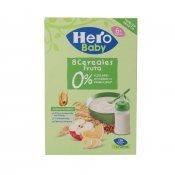 HERO BABY 8 CEREALS/FRUITA 340 G.