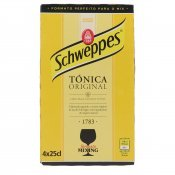 SCHWEPPES TONICA 25CL X4