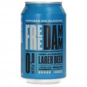 FREE DAMM 0,0% LLAUNA 33CL.