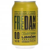 FREE DAMM 0,0% LLIMONA 33CL.