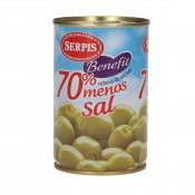 SERPIS BENEFIT OLIVES ANXOVA -SAL 300G