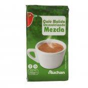 AUCHAN CAFE MOLT DESCAF. BARREJA 250 GRS