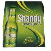 CRUZCAMPO SHANDY LLIMONA PACK 6X25CL.