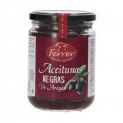 FERRER ACEITUNAS NEGRAS ARAGON 300GR