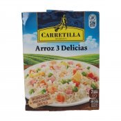 CARRETILLA ARROS 3 DELICIES 250GR