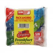 CAMPOFRIO FRANKFURT P4 140GRS