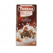 TORRAS XOCO LLET AVELLANES 75GR