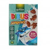 GULLON DIBUS SHARKIES S/G 250G