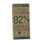 BLANXART NEGRE 82% ECO R.DOMINICANA 80G