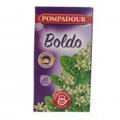 BOLDO POMPADUR 20 SOBRES 30GR